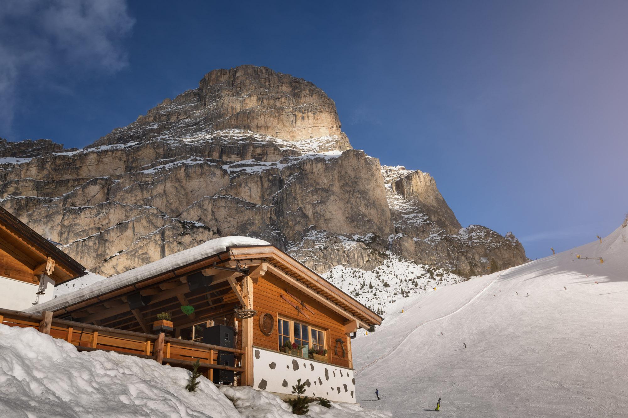 Rifugio Edelweiss, Colfosco, Alta Badia, Dolomites, Italy