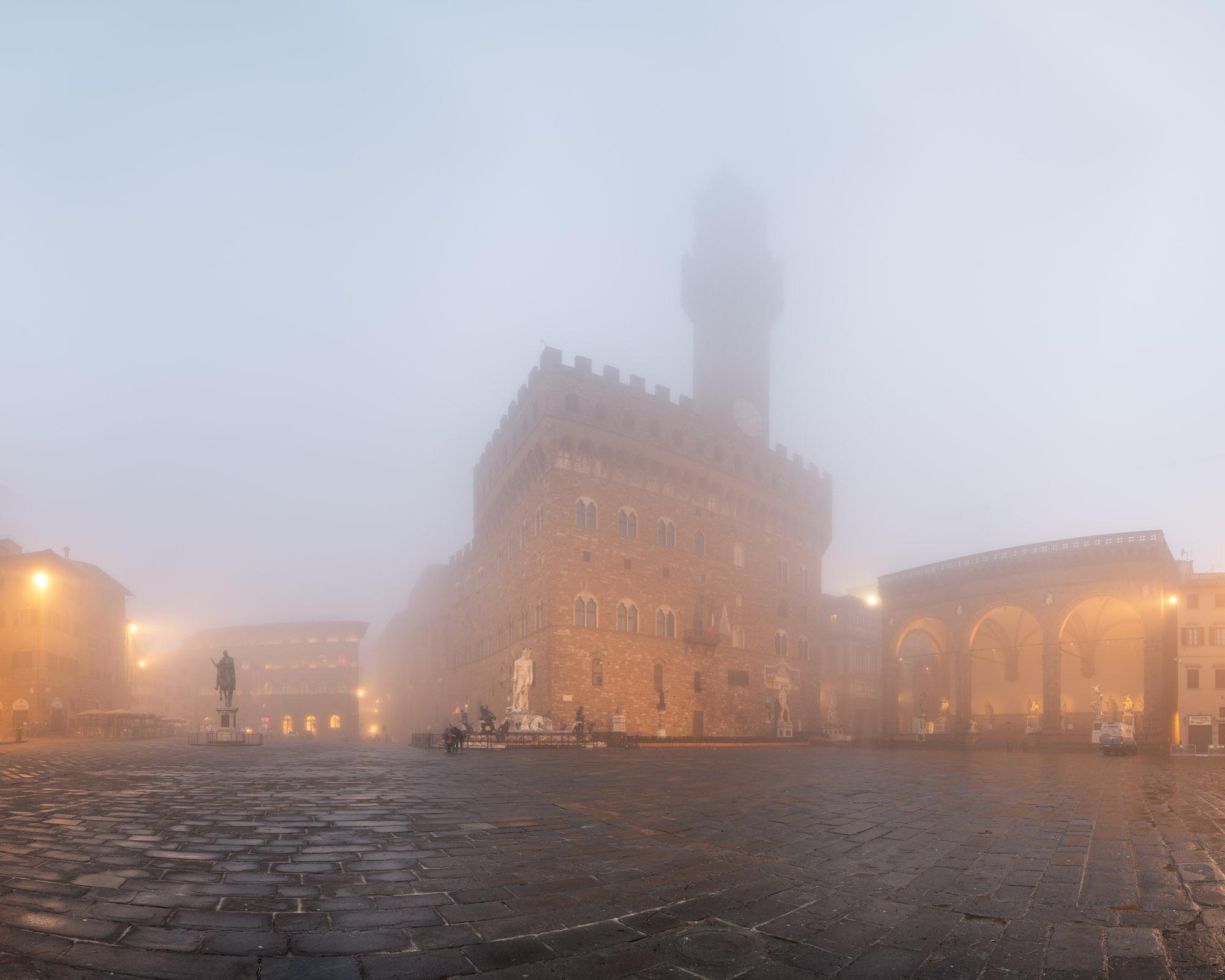 Piazza della Signoria and Palazzo Vecchio, Florence, Italy
