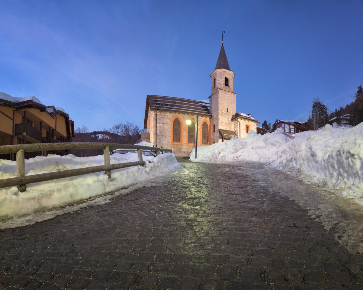Chiesa Santa Maria Antica, Madonna di Campiglio, Italy
