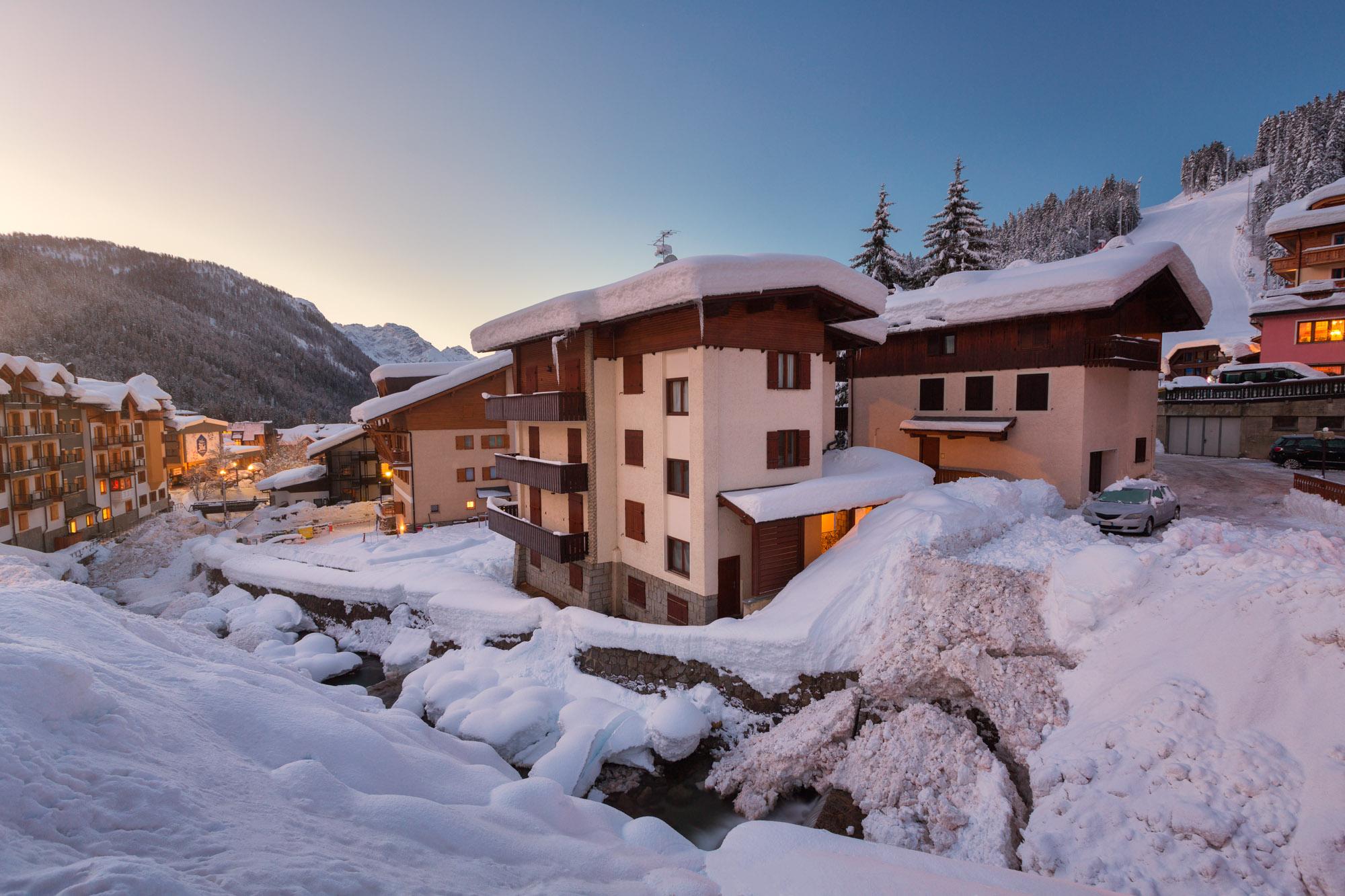 Madonna di Campiglio in the Morning, Brenta Dolomites, Italy