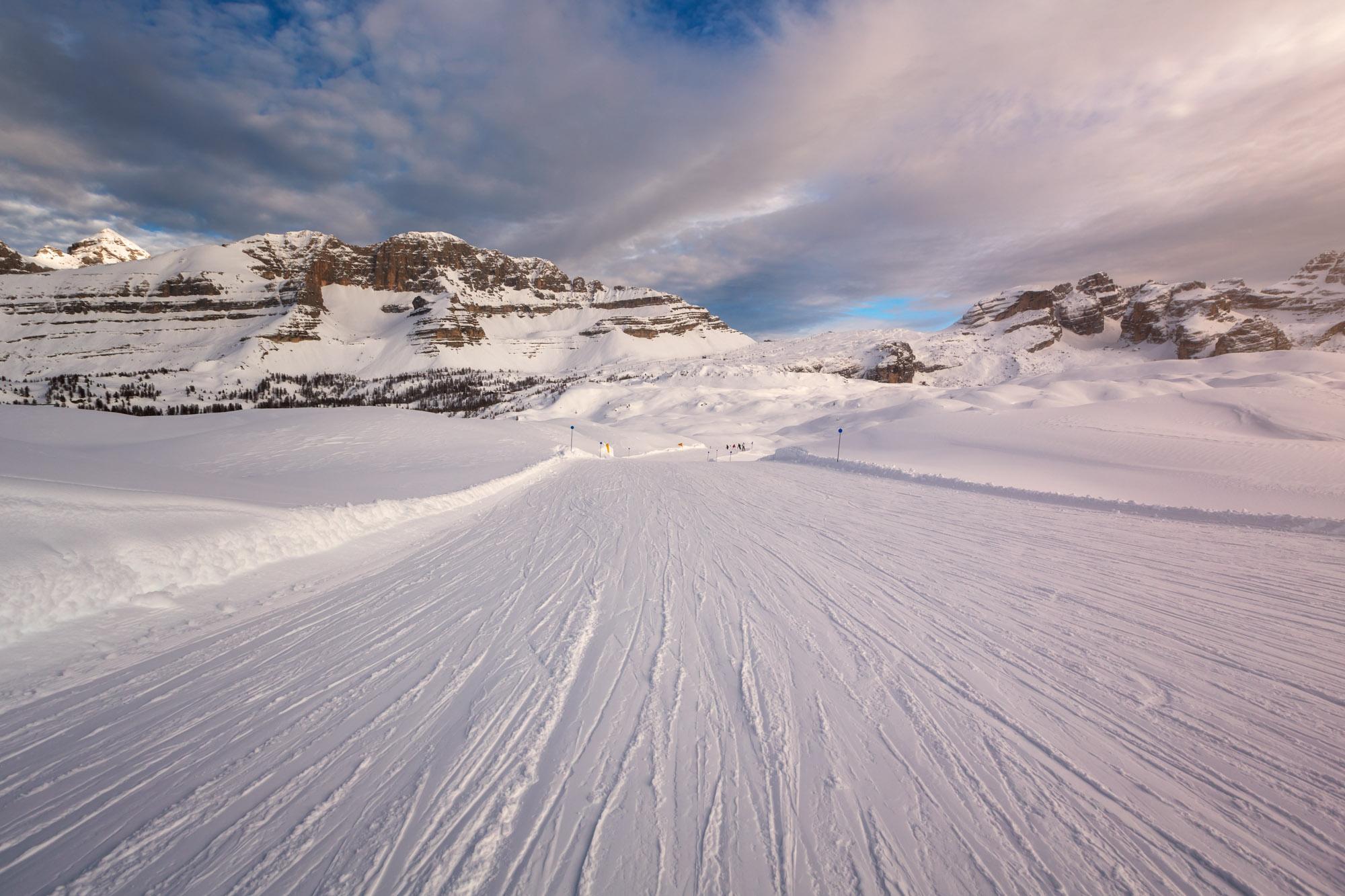 Ski Slope, Madonna di Campiglio, Italy