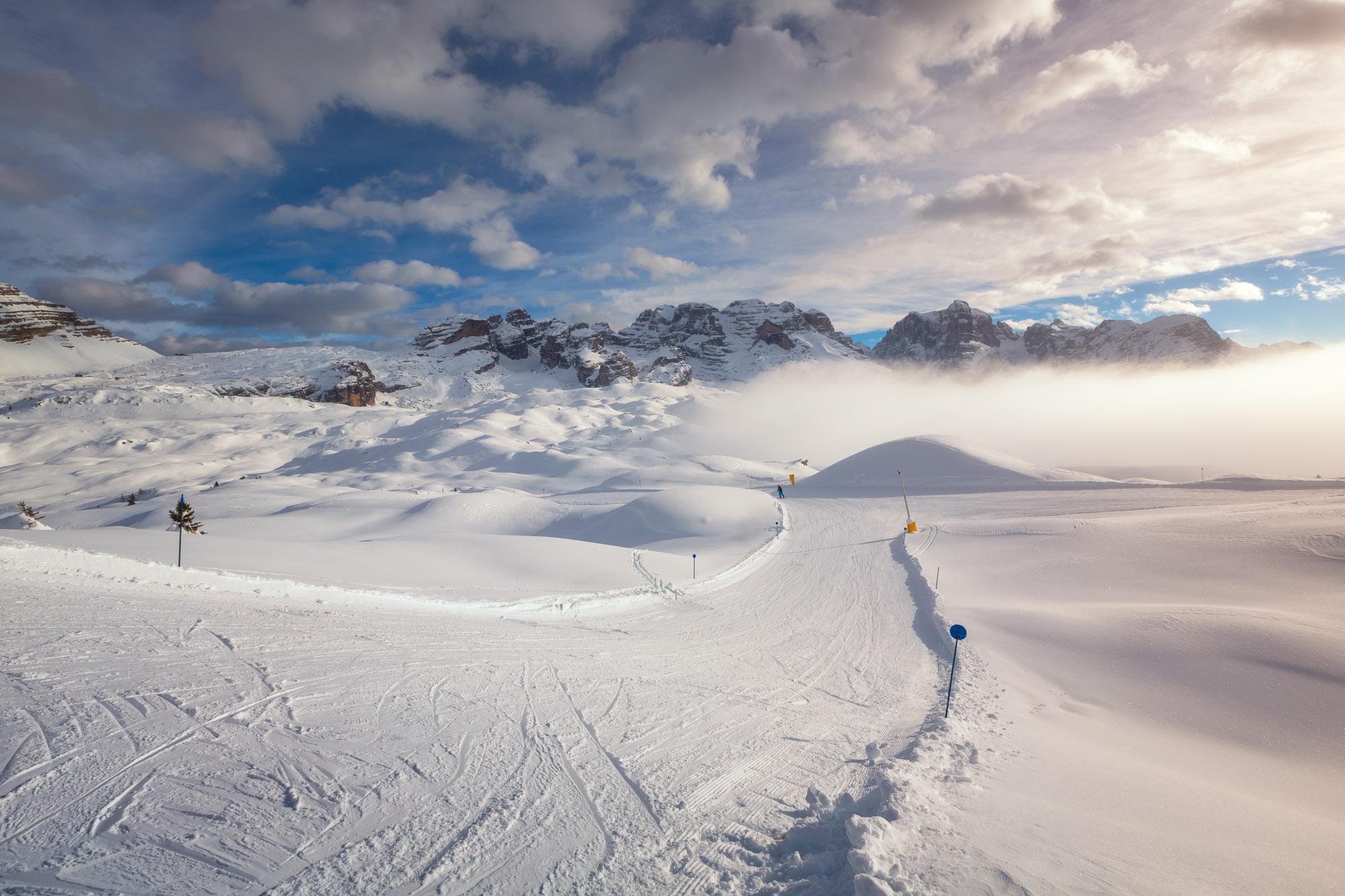 Ski Slope, Madonna di Campiglio Ski Resort, Italy