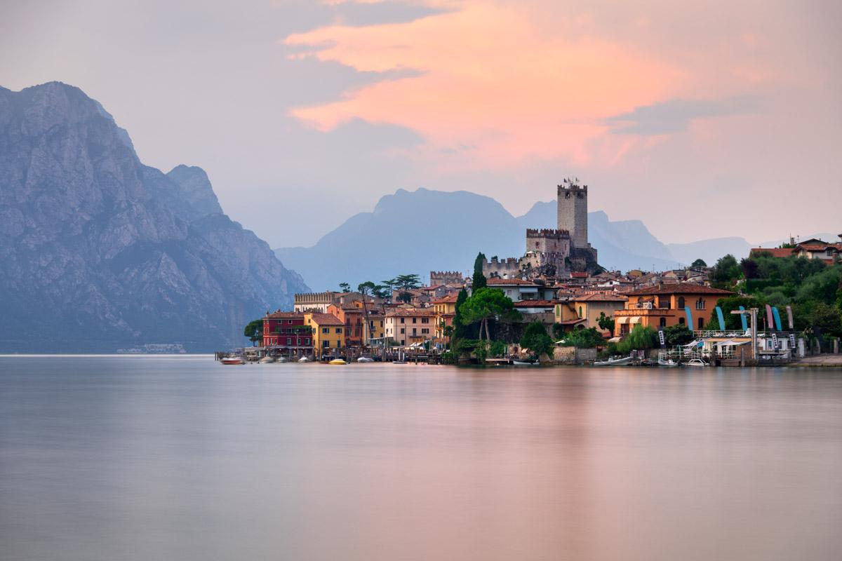 Lake Garda, Malcesine, Italy
