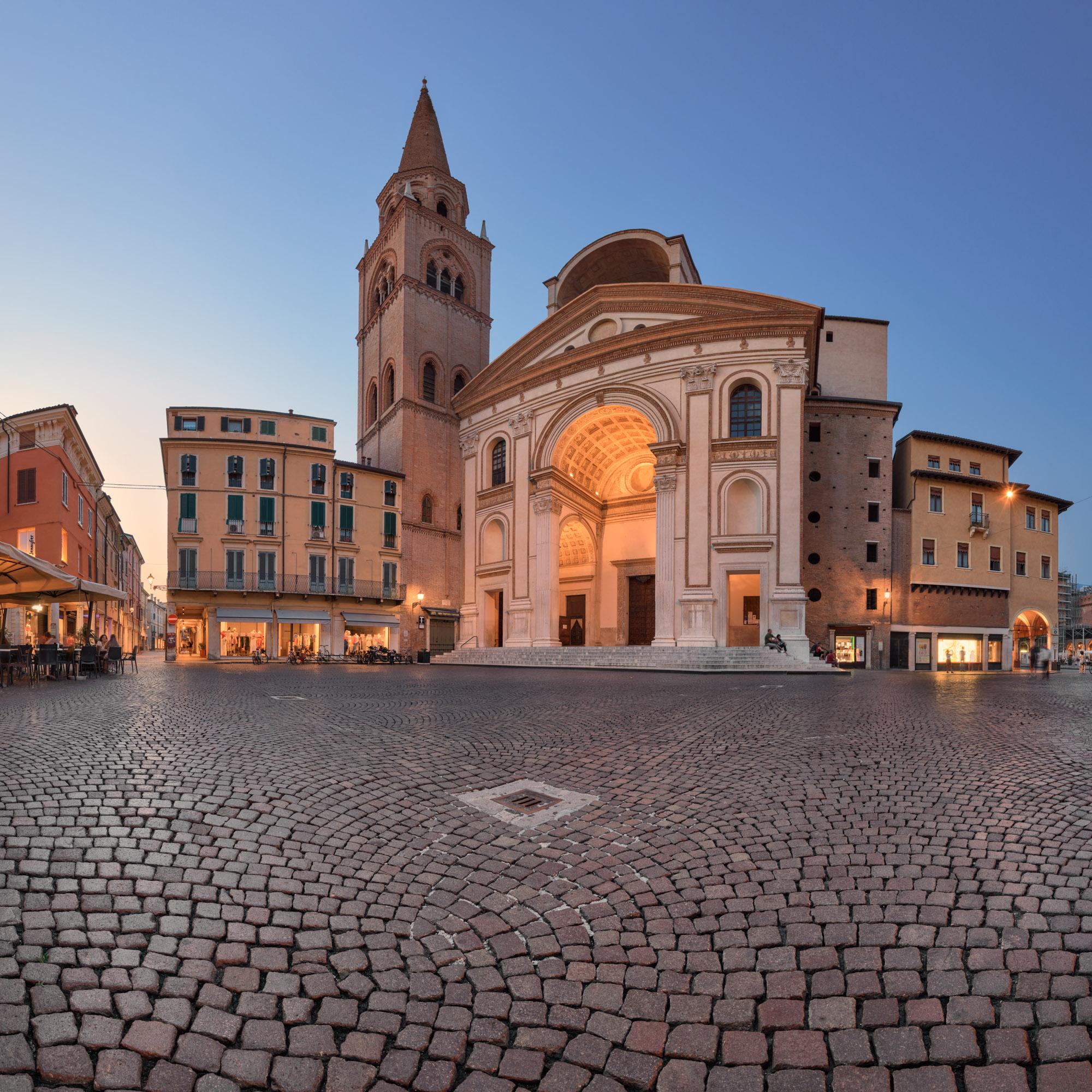 Basilica di Sant Andrea, Mantua, Lombardy, Italy