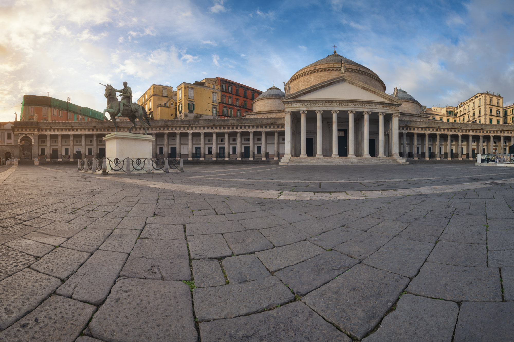Basilica Reale Pontificia San Francesco da Paola, Naples, Italy