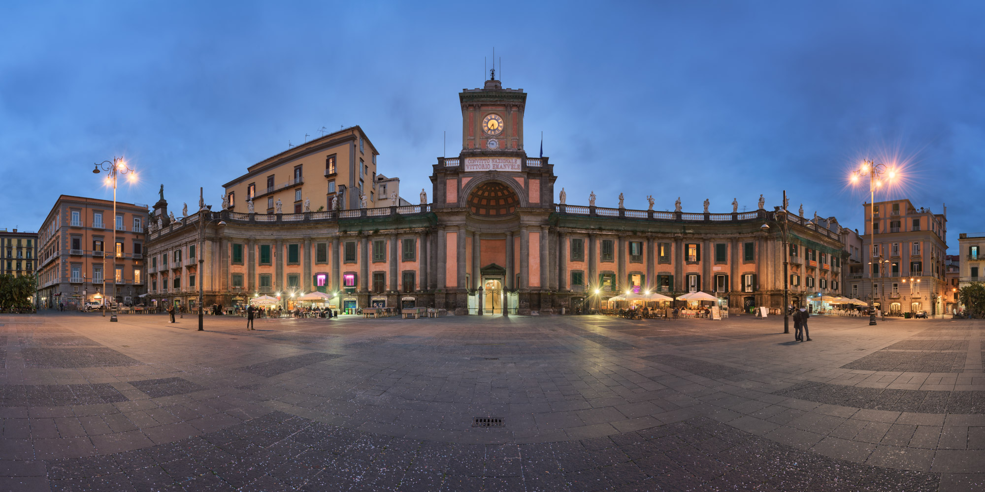 Convitto Nazionale Vittorio Emanuele II, Naples, Italy