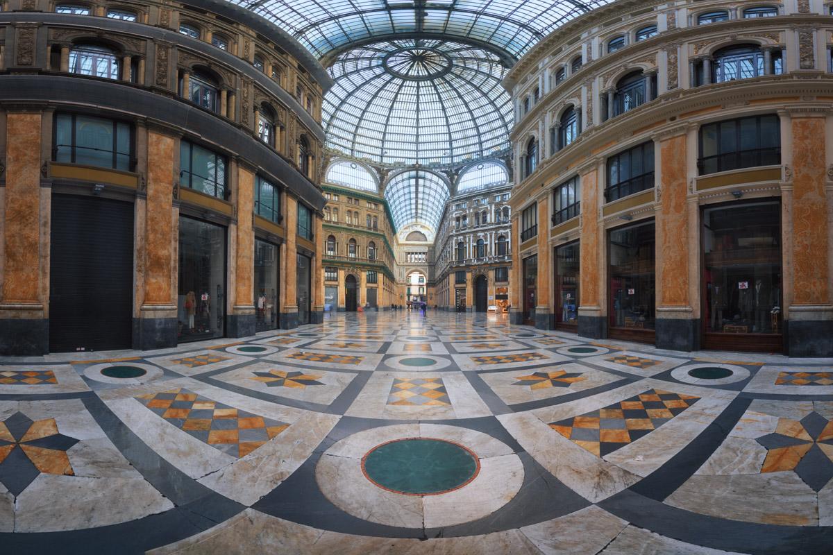 Galleria Umberto I, Naples, Italy