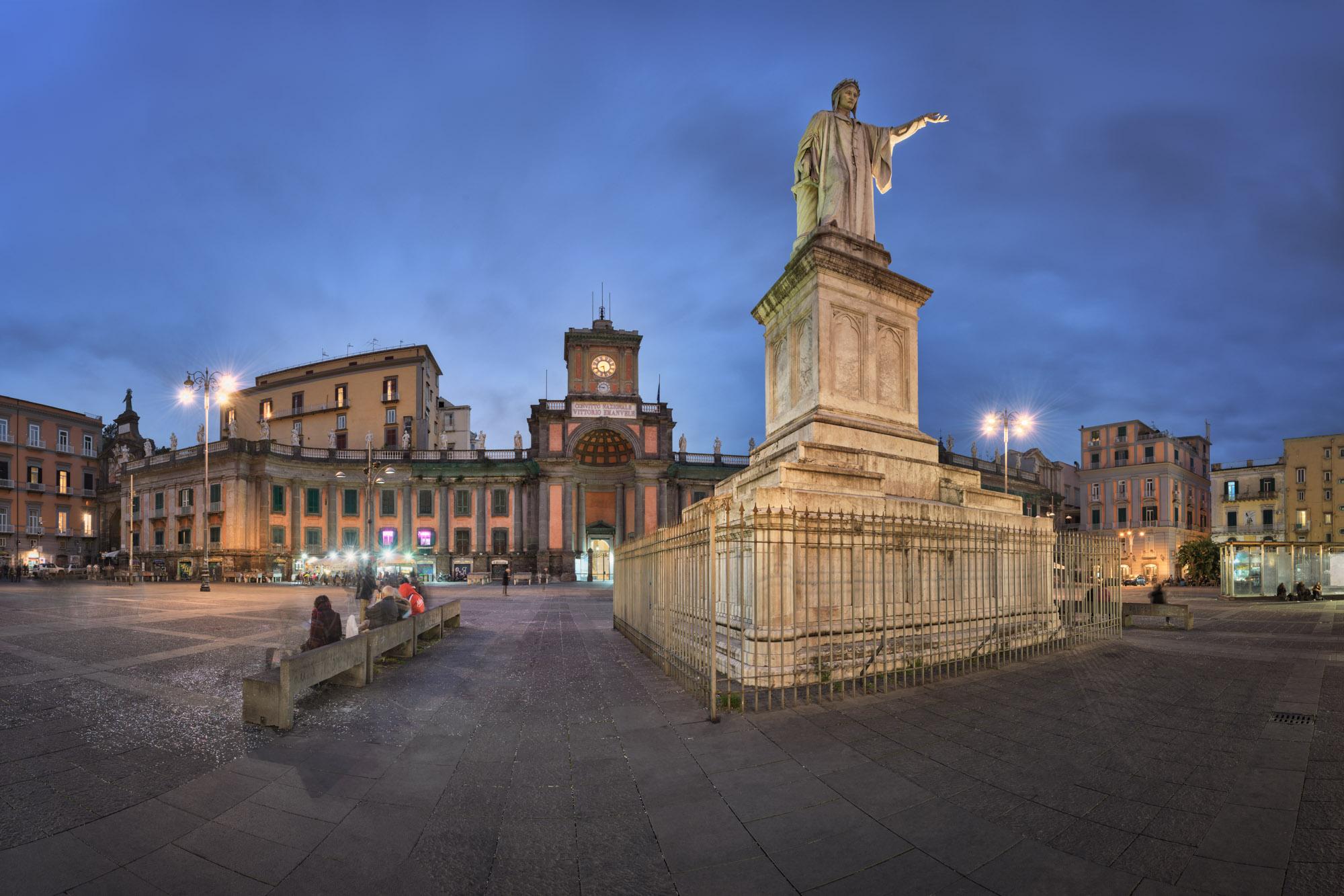Piazza Dante, Convitto Nazionale Vittorio Emanuele II, Naples