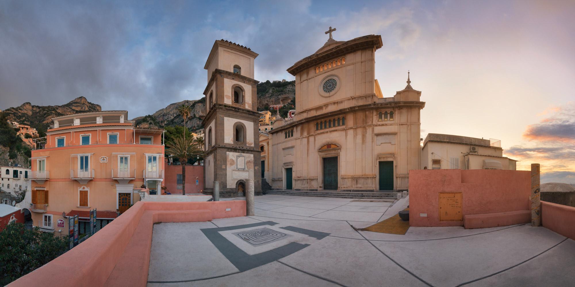 Church of Saint Mary of the Assumption, Positano, Amalfi Coast,