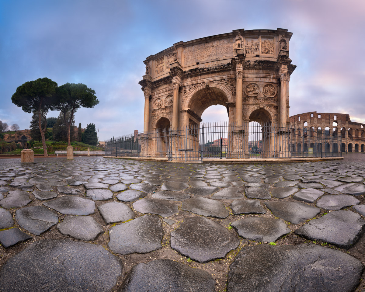 Arch of Constantine, Colosseum, Rome, Italy