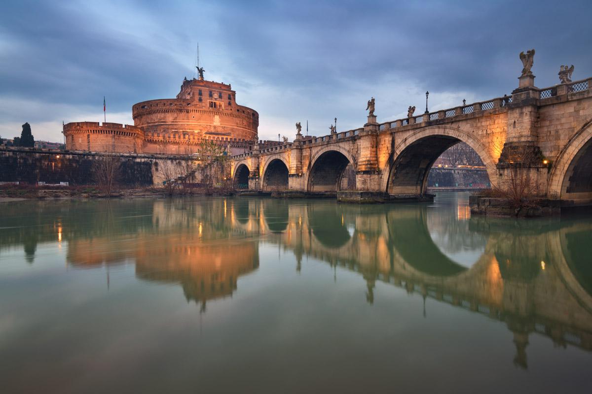 Castel Sant Angelo, Ponte Sant Angelo, Rome, Italy