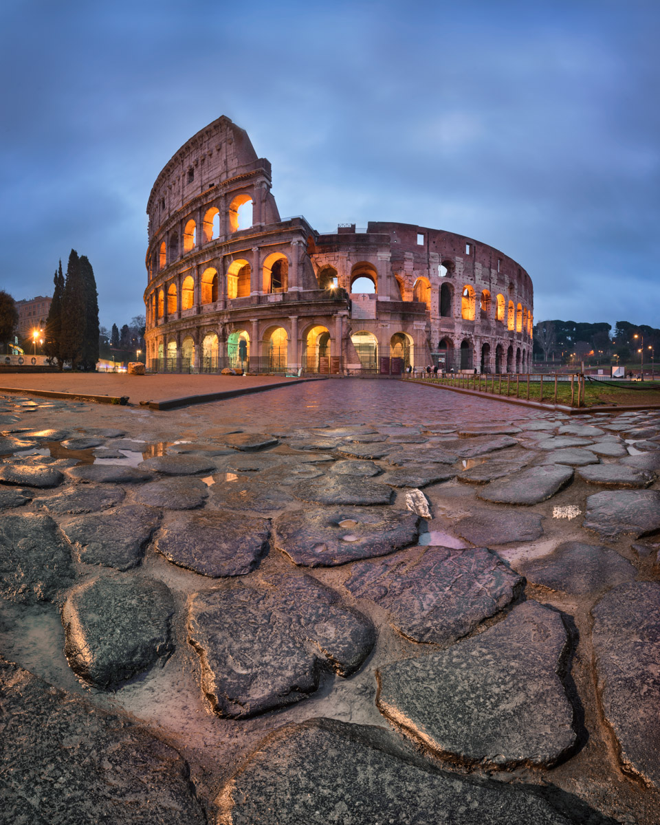 Colosseum in the Morning, Rome, Italy