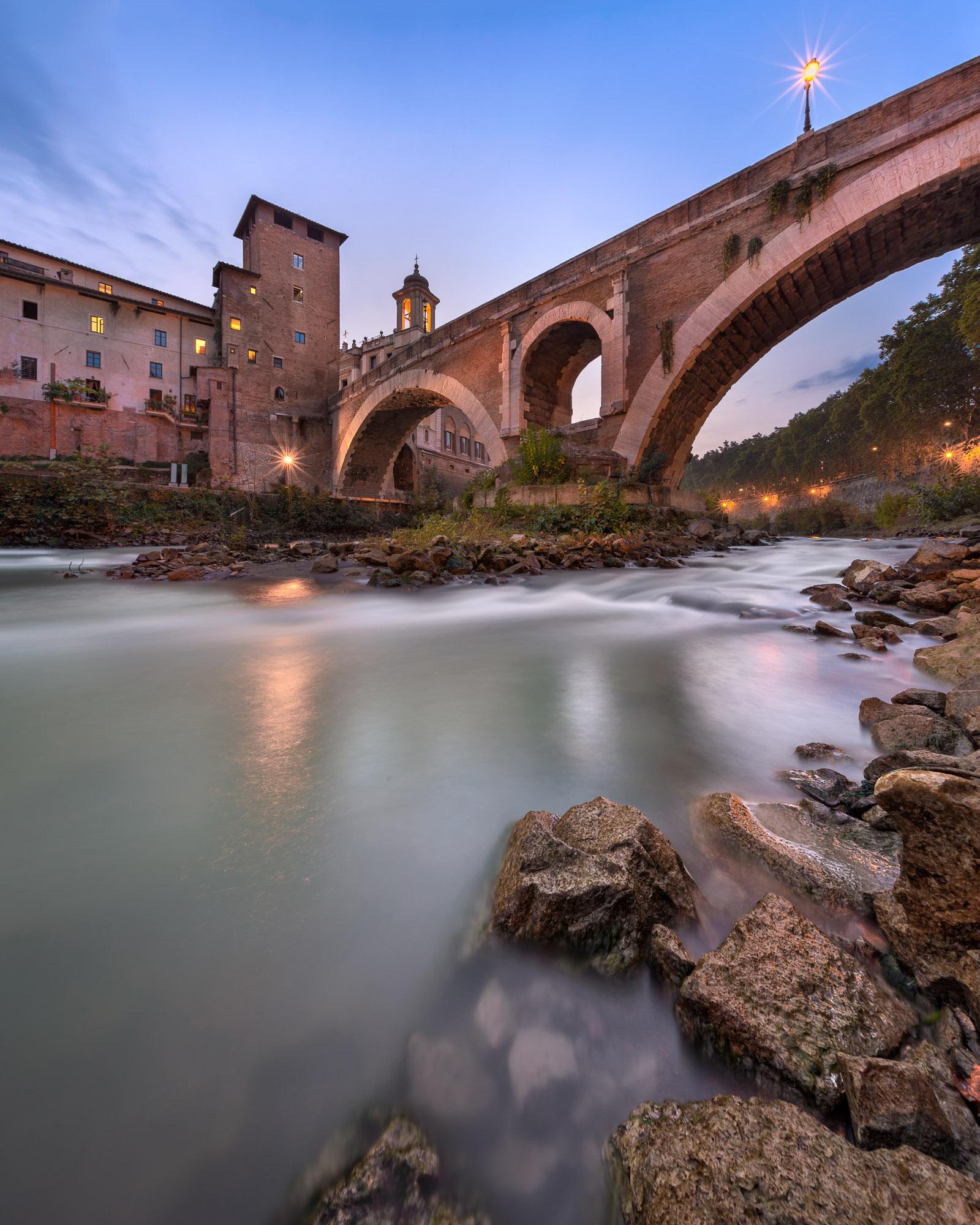 Fabricius Bridge, Rome, Italy