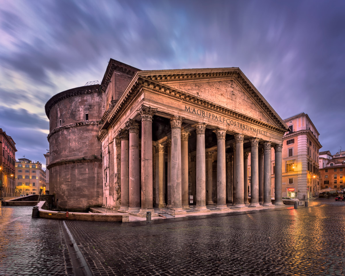 Pantheon in the Morning, Rome, Italy