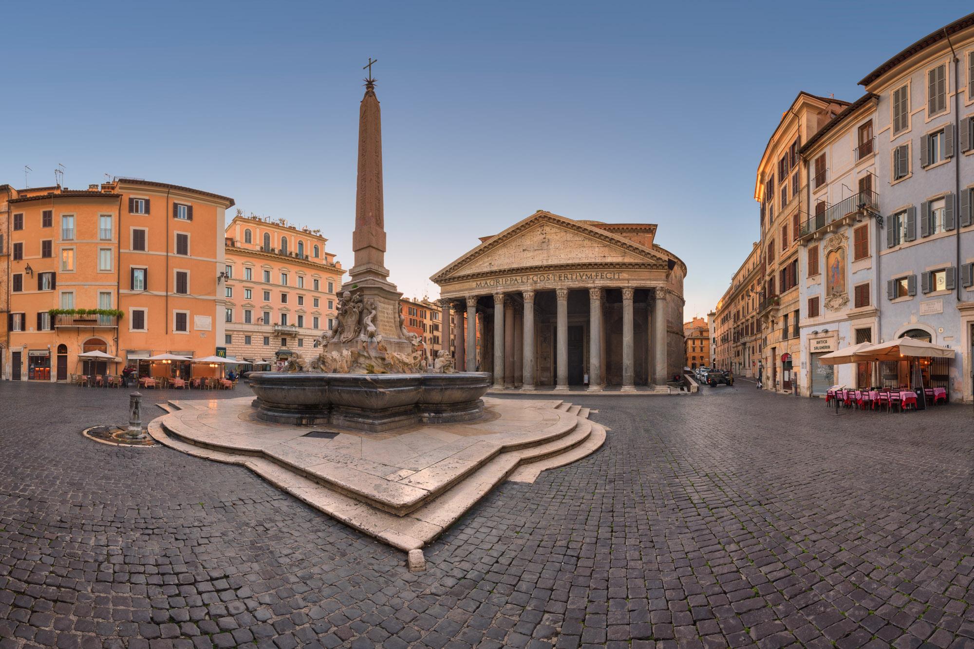 Piazza della Rotonda, Pantheon, Rome, Italy