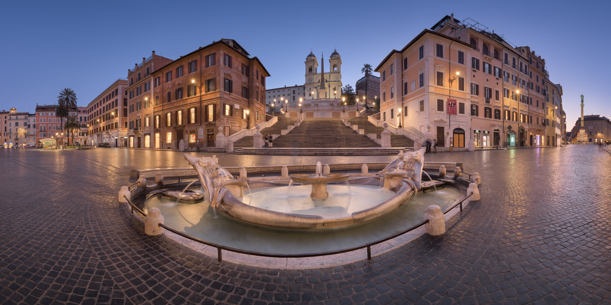 Piazza di Spagna and Spanish Steps, Rome, Italy