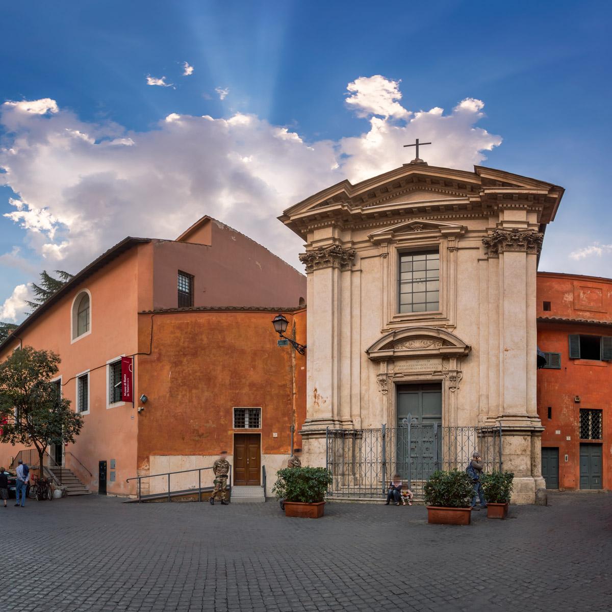 Santa Maria de Monte Carmelo Church, Trastevere, Rome, Italy