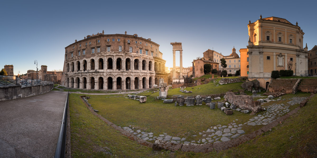 Theatre of Marcellus, Rome, Italy