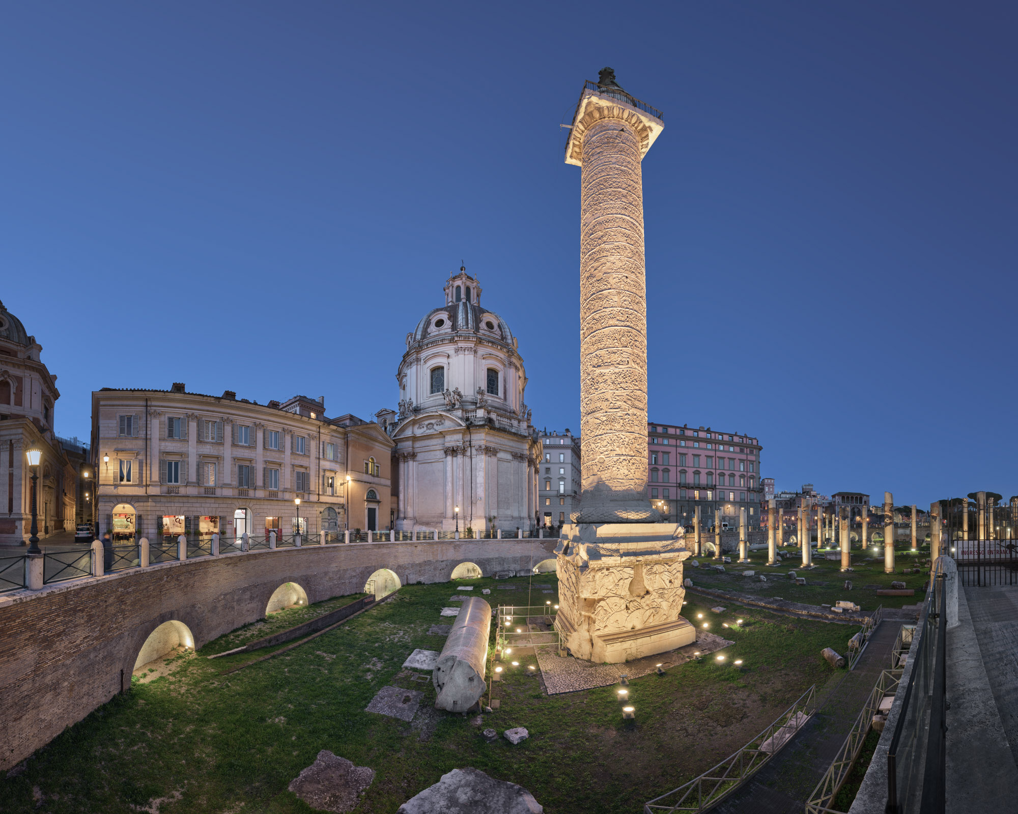 Trajan Column, Rome, Italy