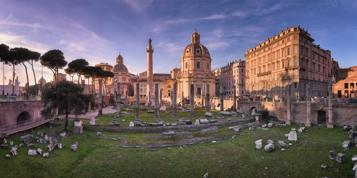 Trajan Forum and Trajan Column, Rome, Italy
