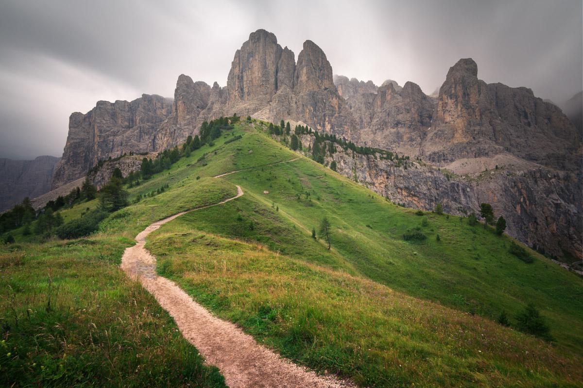Brunecker Turm Peak, Selva di Val Gardena, Dolomites, Italy