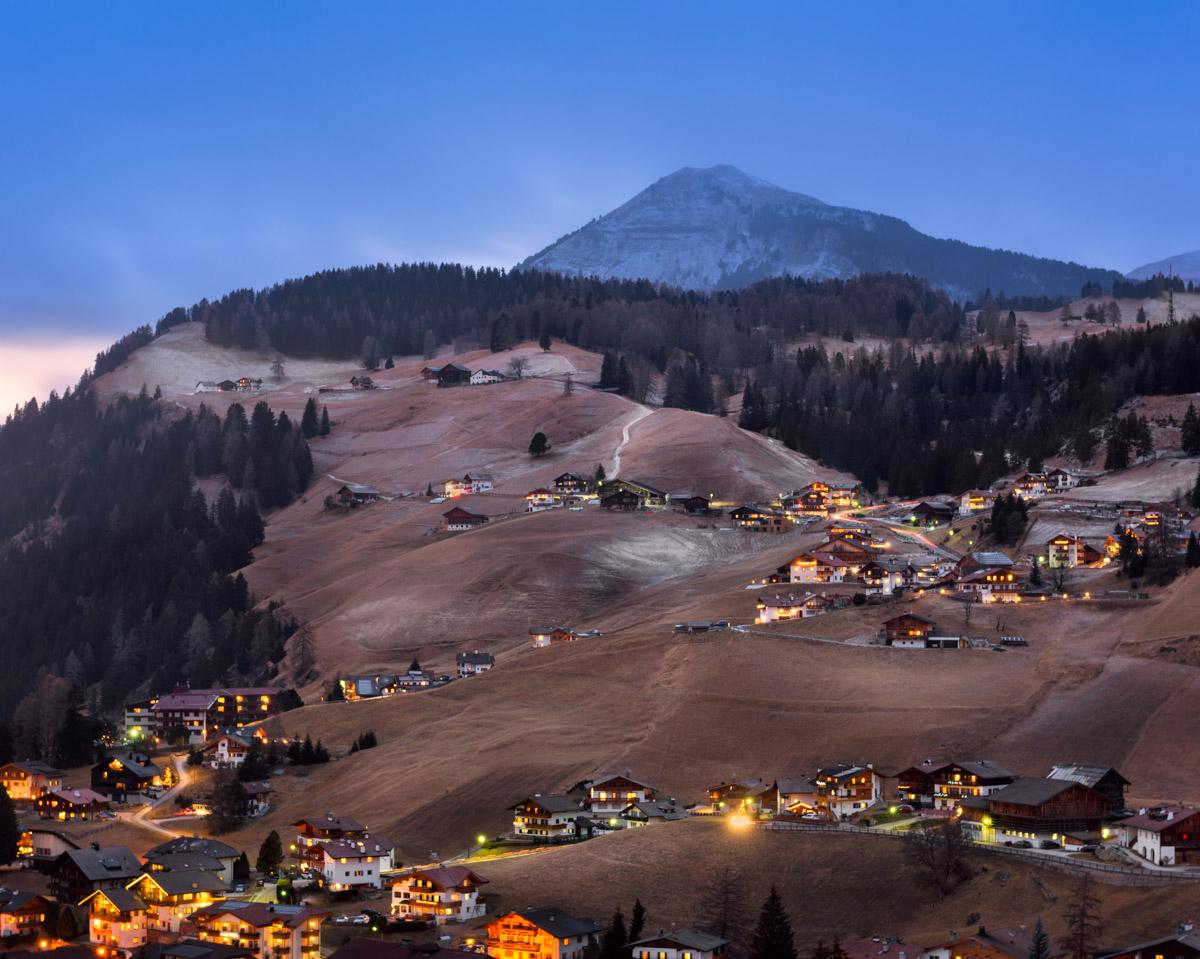 Ski Resort Selva Val Gardena, Dolomites, Italy