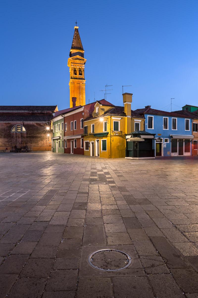 Chiesa di San Martino, Burano, Veneto, Italy