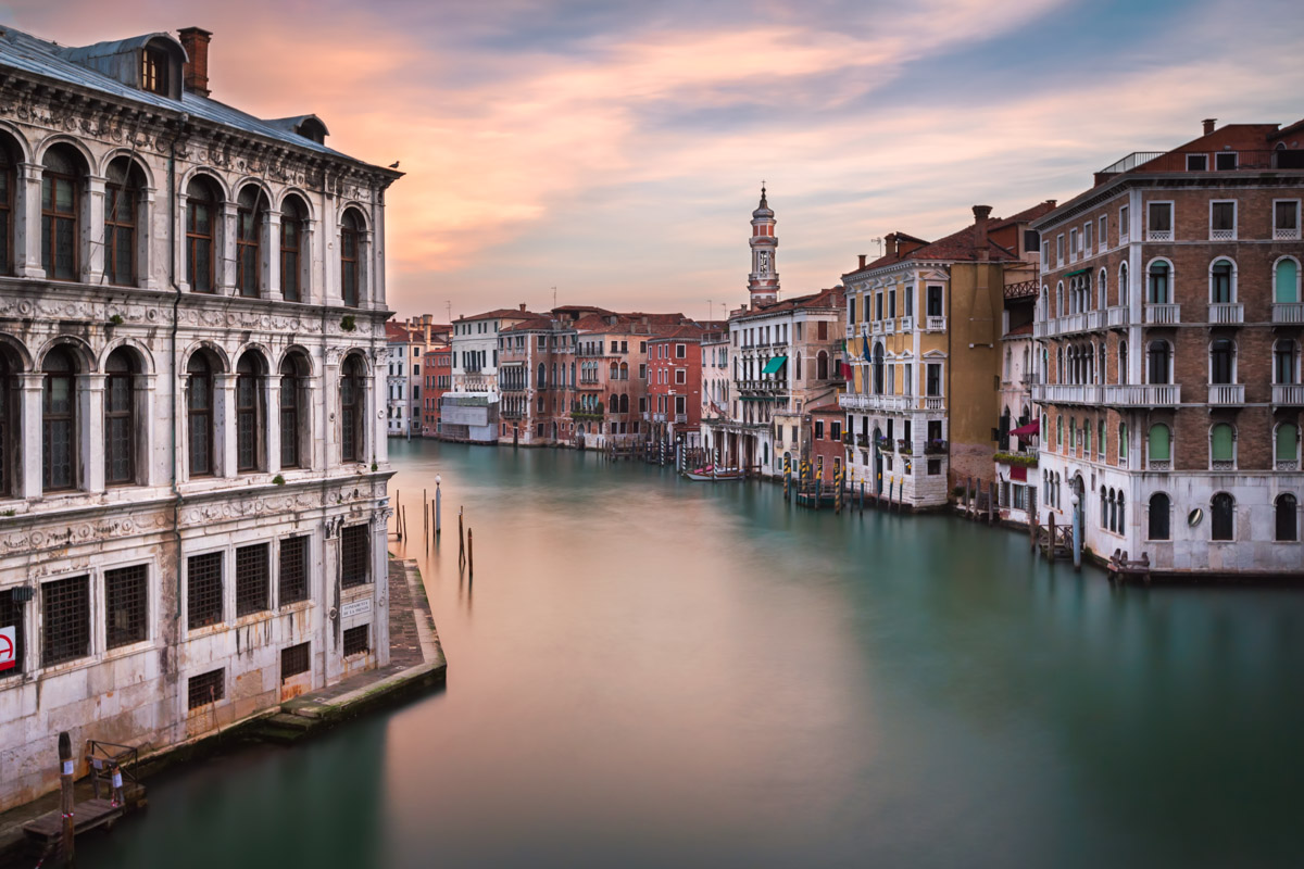 Grand Canal in the Morning, Venice, Italy