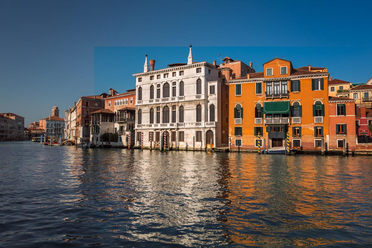 Grand Canal, Palazzo Giustinian Lolin, Venice, Italy