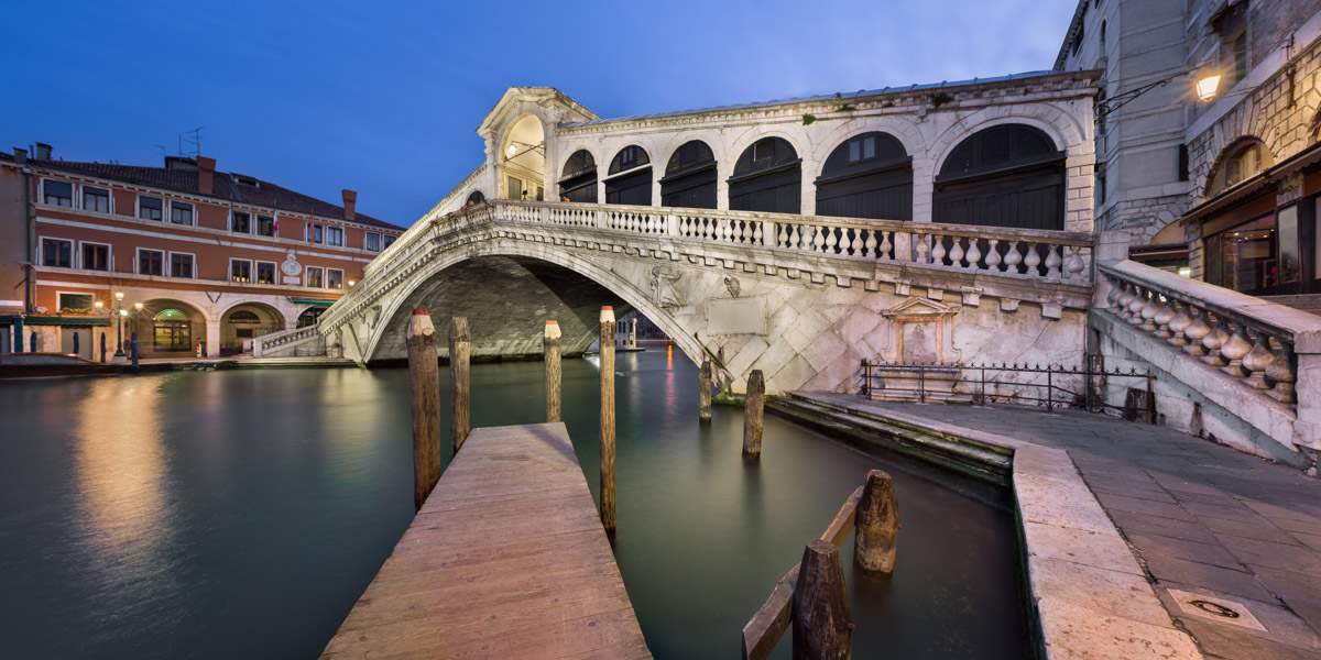 Rialto Bridge in the Morning, Venice, Italy