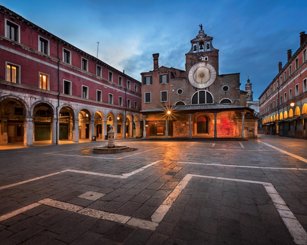 San Giacomo di Rialto Square, Venice, Italy