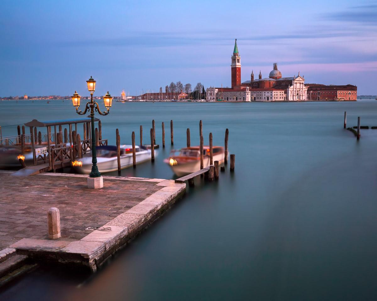 Venetian Lagoon and San Giorgio Maggiore Church, Venice, Italy