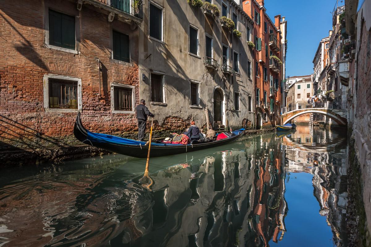 Venice Gondola Ride, Venice, Italy