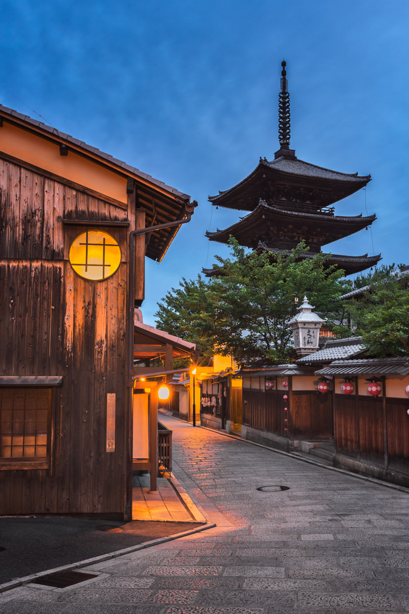 Yasaka Pagoda in the Morning, Kyoto, Japan