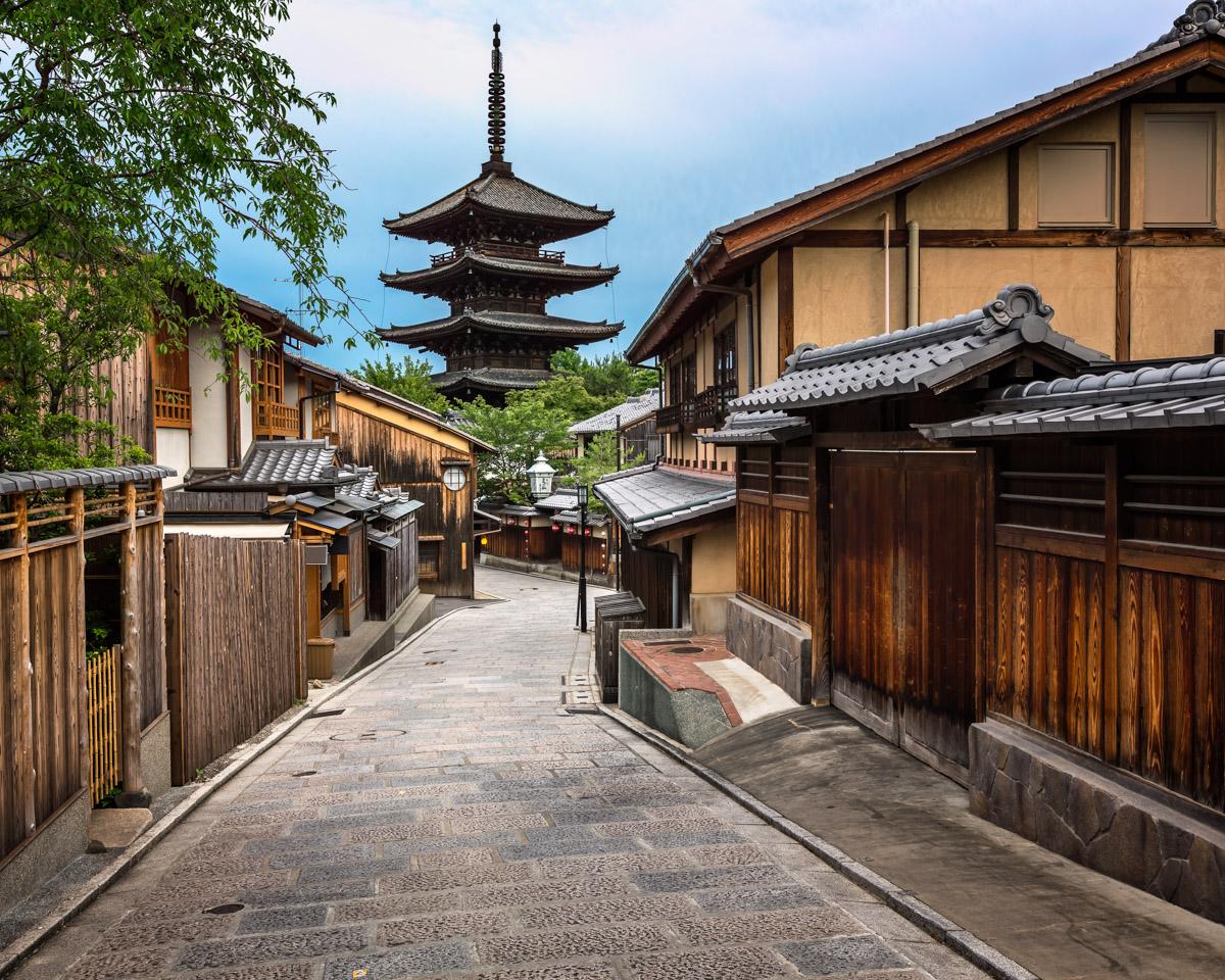 Yasaka Pagoda, Sannen Zaka Street, Kyoto, Japan