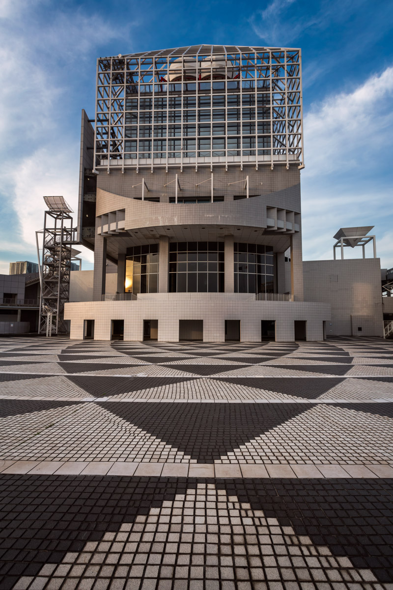 Harumi Port Architecture, Tokyo, Japan