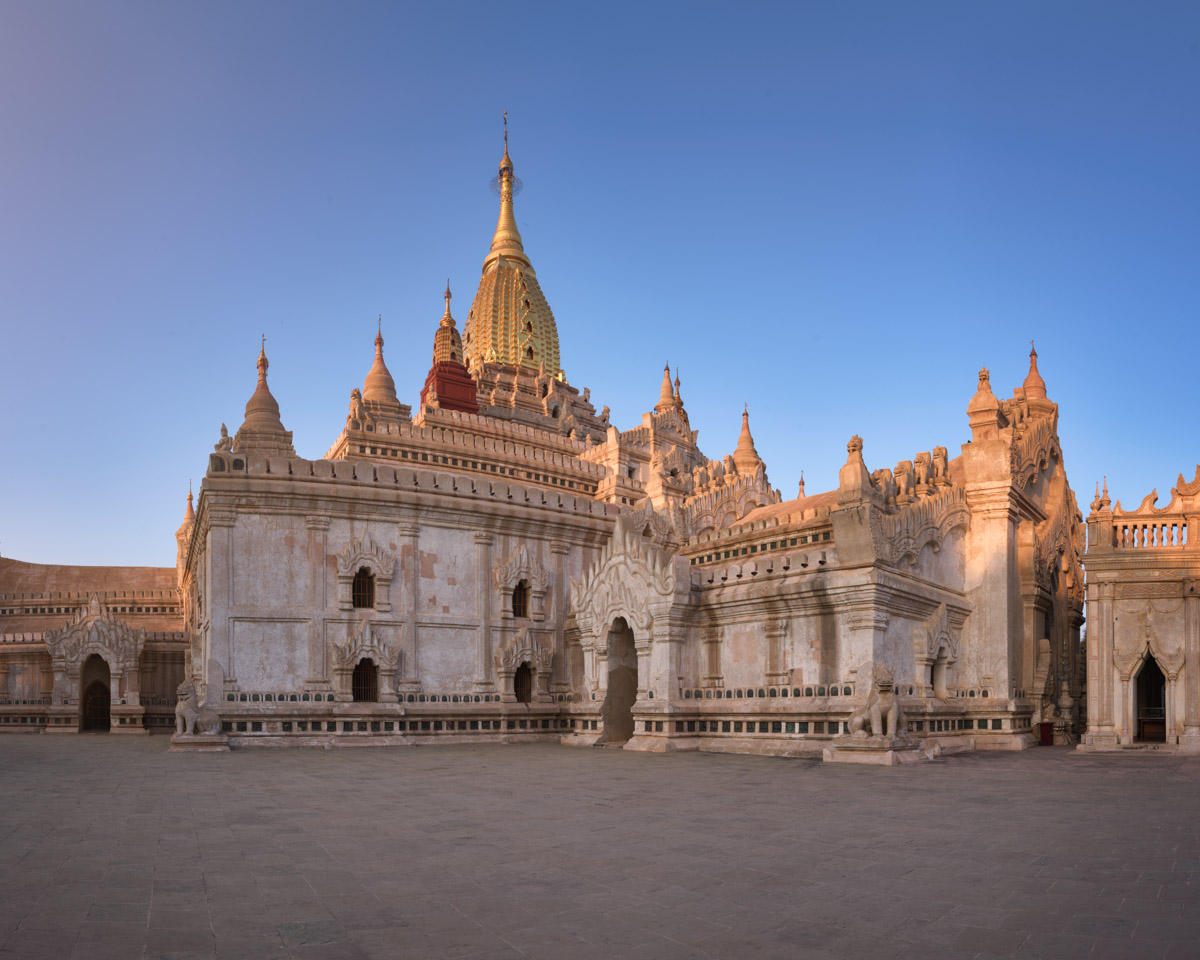 Ananda Temple in the Evening, Bagan, Myanmar