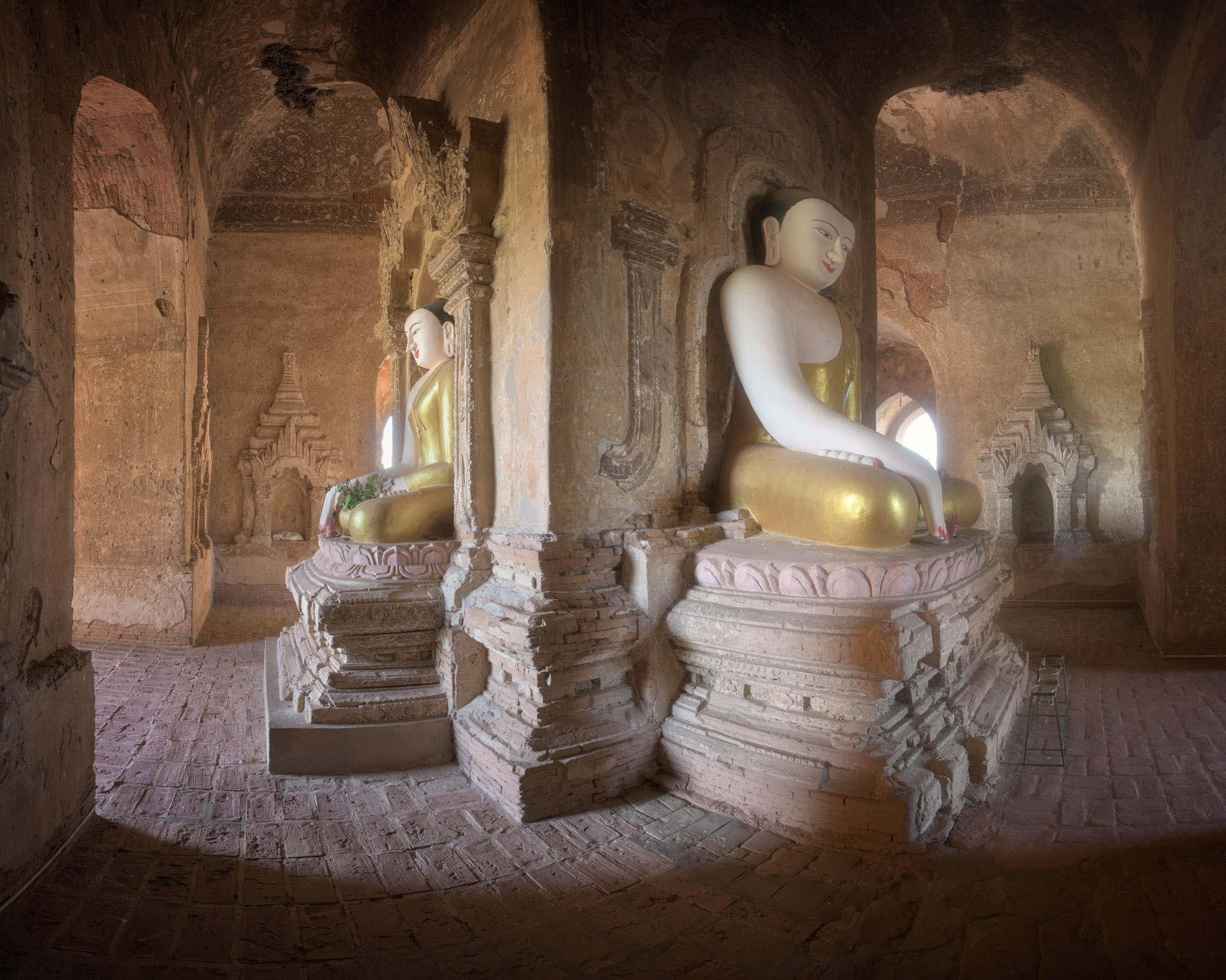 Ancient Temple Interior, Bagan, Myanmar