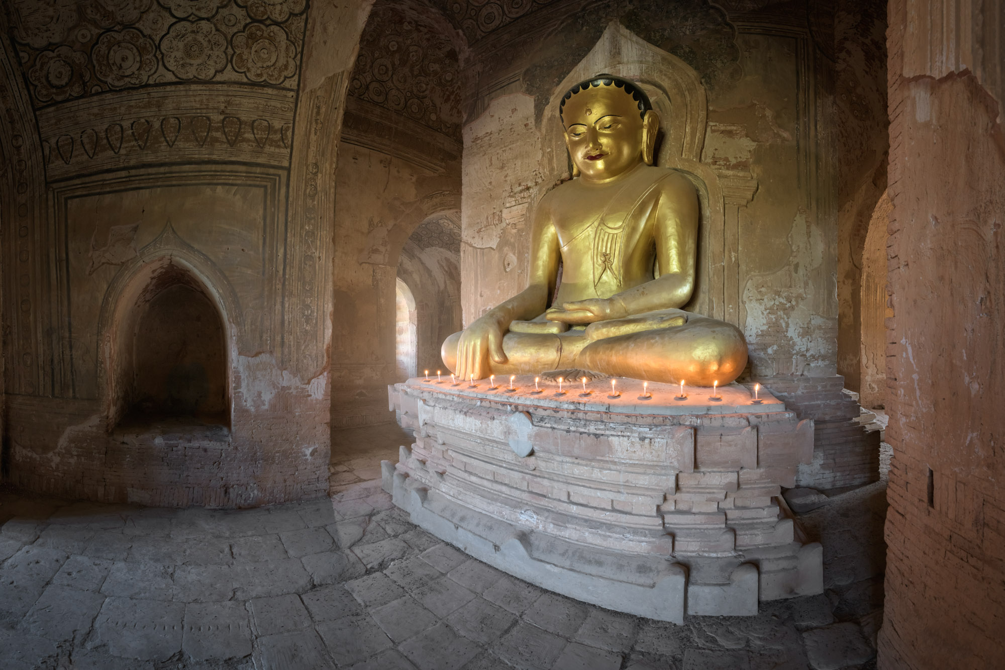 Ta Wet Hpaya Interior, Bagan, Myanmar