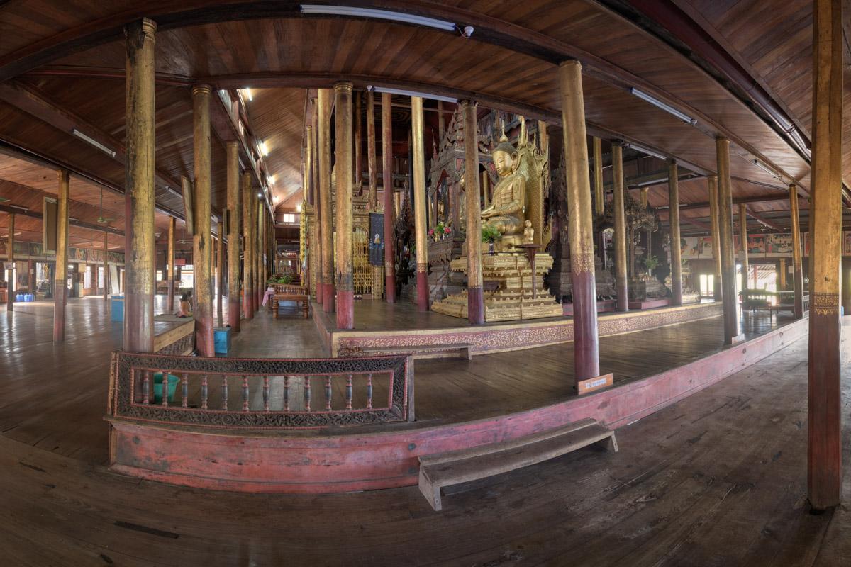 Nga Phe Kyaung Monastery, Inle Lake, Myanmar