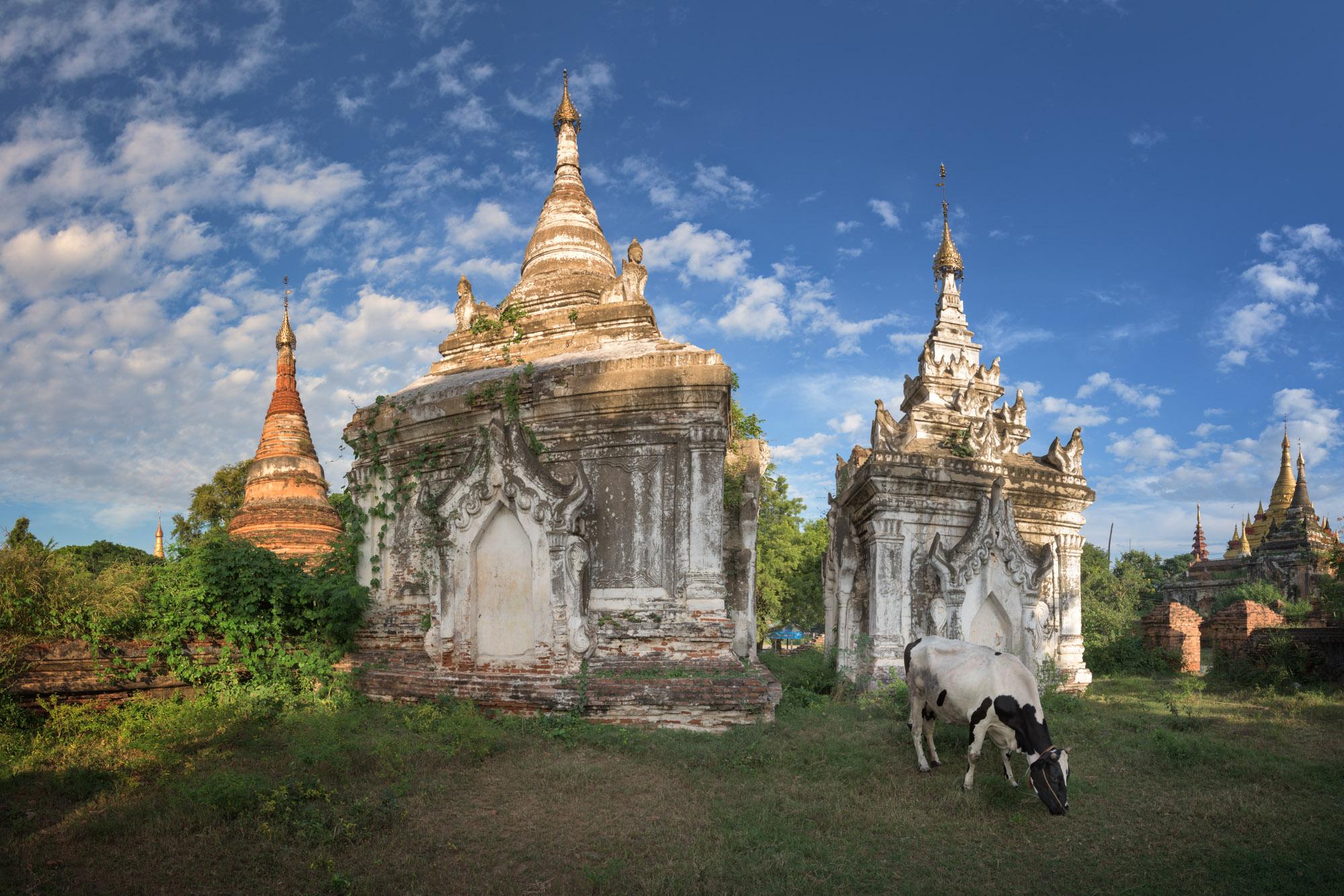 Ancient Pagoda Complex, Inwa, Myanmar