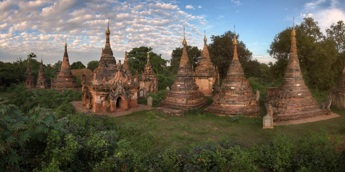 Khae Thin Pagoda Complex, Inwa, Myanmar