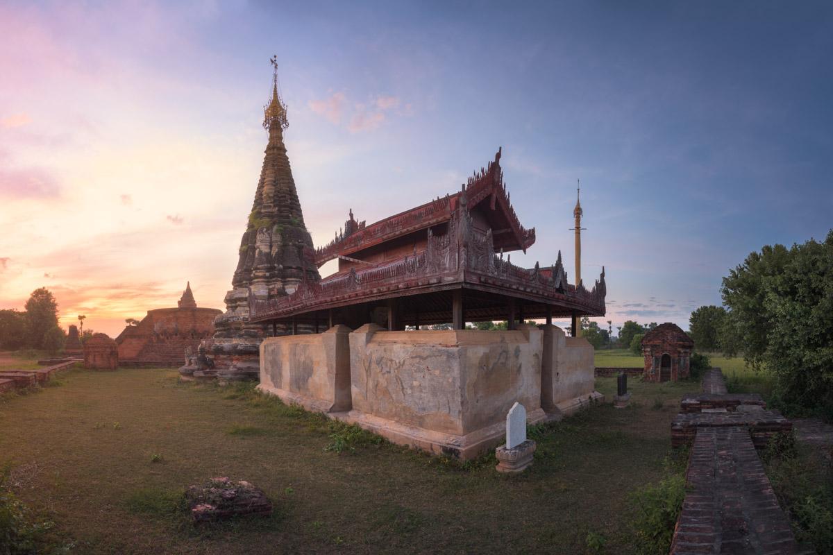 Lawka Dawtha Mann Aung Pagoda, Inwa, Myanmar