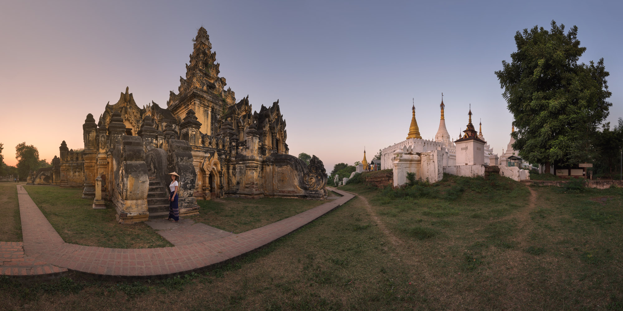 Maha Aungmye Bonzan Monastery, Inwa, Myanmar