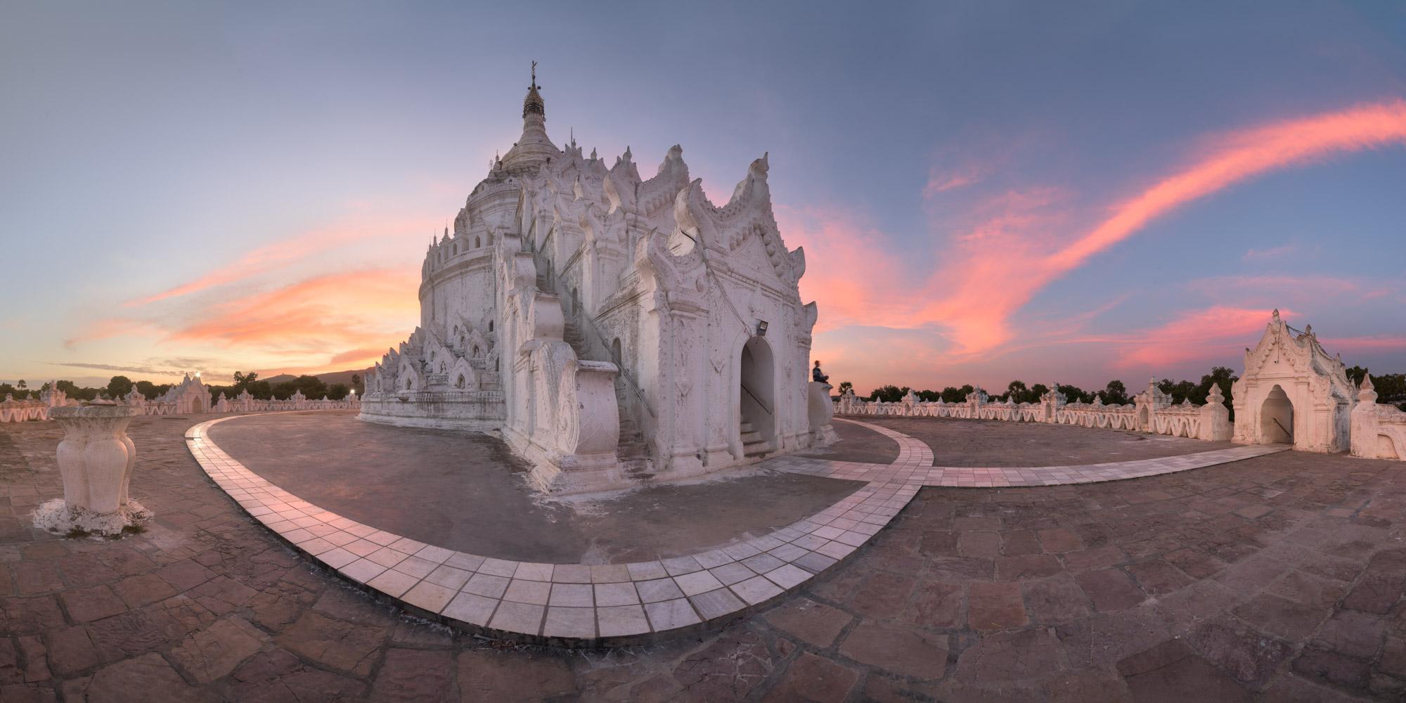 Mya Thein Tan Pagoda in Mingun, Myanmar