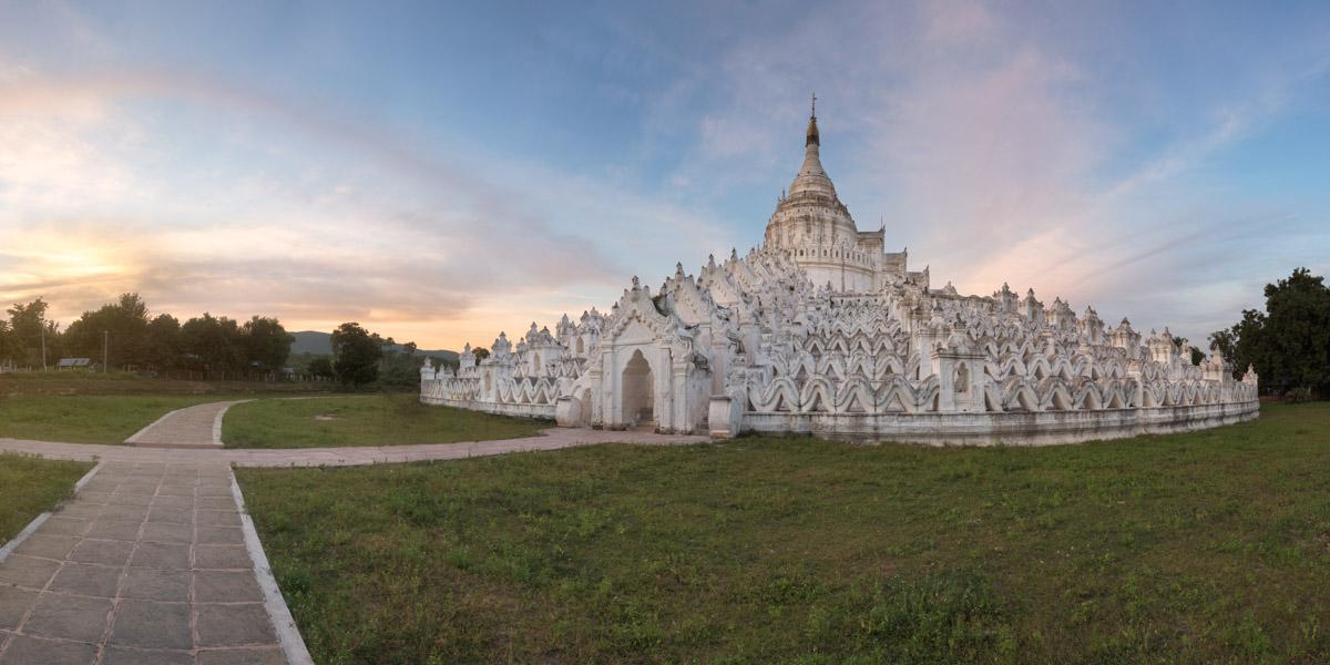Mya Thein Tan Pagoda, Mingun, Myanmar