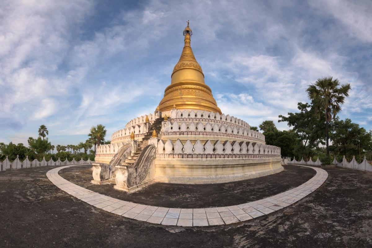 Small Mingun Pagoda, Mingun, Myanmar