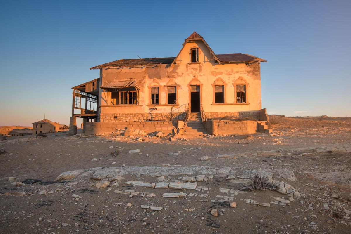 Bookkeepers House in Kolmanskop, Namibia