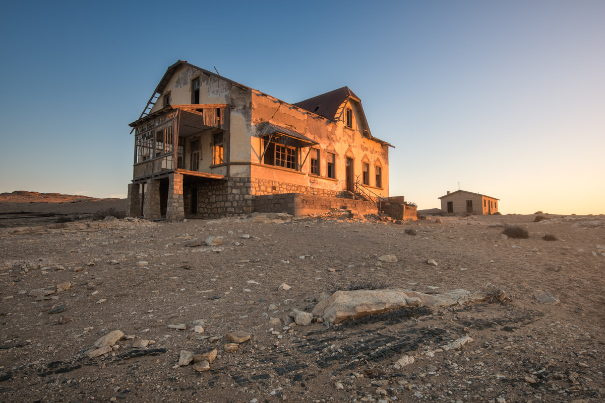 Bookkeepers House, Kolmanskop, Namibia
