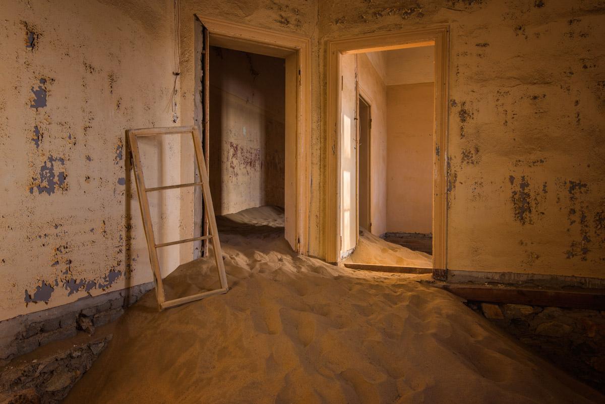 Derelict House, Ghost Town of Kolmanskop, Namibia